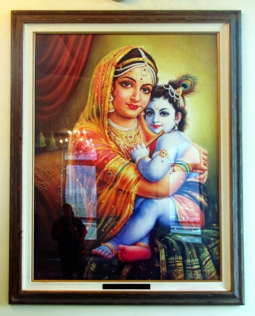 Krishna and Yasoda