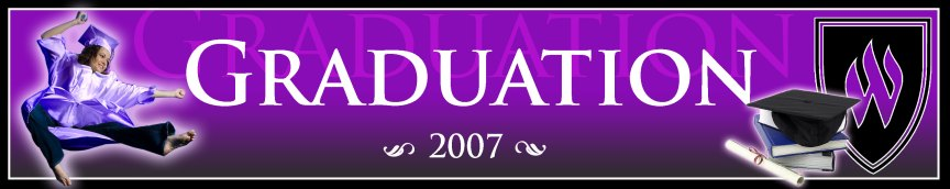 Signpost Header - Graduation edition