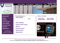 Design of all graphical elements for WSU's Stewart Library, including CSS, HTML, Jquery, Flash and some Javascript.