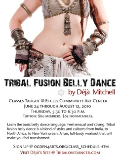 Tribal Fusions Poster