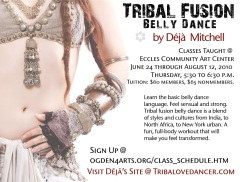 Tribal Fusions Poster 2