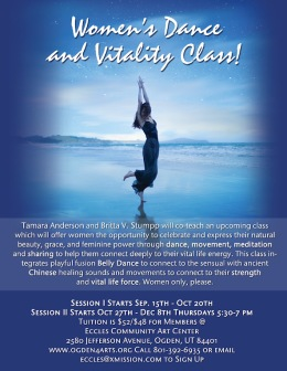 Women's Vitality Class I co-taught with Tamara Anderson