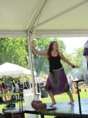 Britta Dancing