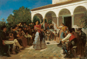 Alfred_Dehodencq_A_Gypsy_Dance_in_the_Gardens_of_the_Alcázar
